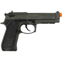 FULL AUTO HFC AIRSOFT METAL M9 BERETTA BLOWBACK GAS HAND GUN