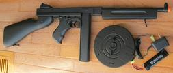 Auto Electric Airsoft Gun Thompson Tommy Gun M1A1 Black up t