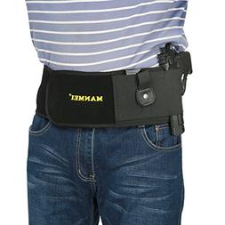 Belly Band Gun Holster Concealed Carry Tactical Pistol/Handg