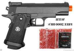 BEST QUALITY BLACK METAL SPRING AIRSOFT GUN PISTOL FREE 2000