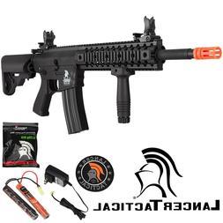 Lancer Tactical Black LT-12BL Gen 2 350 FPS Auto Electric M4