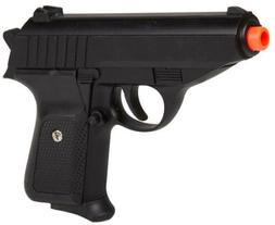 Black Metal Spring Airsoft Pistol Hand Gun 250FPS James Bond