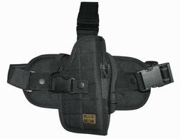 Black Tactical Left Handed Drop Leg Gun Holster BB Airsoft P