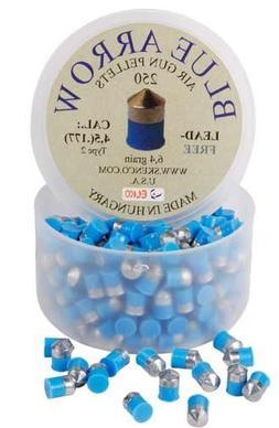 Skenco Blue Arrow .177 Cal, 6.4 Grains, Pointed, Lead-Free,