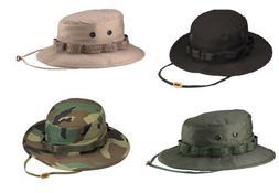 BOONIE HAT 100% RipStop Cotton Bucket Bush USMC Navy Airsoft