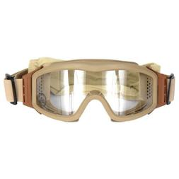 Lancer Tactical CA-201T Clear Lens Safety Airsoft Goggles ,