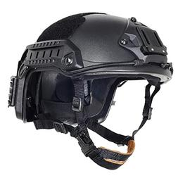 Lancer Tactical CA-806B Maritime ABS Helmet Color: Black, Si