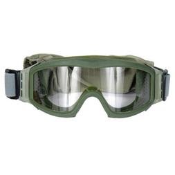 Lancer Tactical CA-201G Clear Lens Safety Airsoft Goggles ,