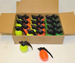 CASE LOT - 500 AIRSOFT BBs GRENADE BOTTLE 6mm .12g Pistol G