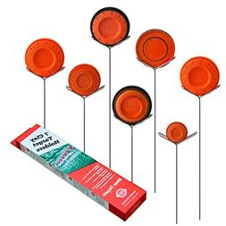 Clay Pigeon Target Holders Pack of 7 - Will Fit Any Clay Tar