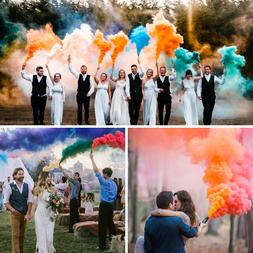 COLOR SMOKE bomb airsoft photo prop stage effect magic photo