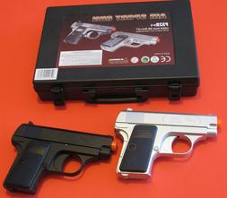 Cool Two Small Spring Airsoft Pistol Cold 0.25 Replica Silve