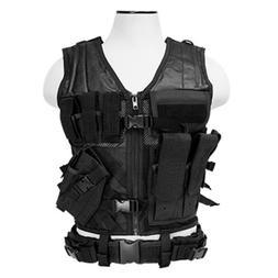 VISM CTVC2916B Tactical Vest Childrens/black