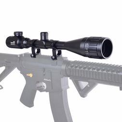 CVLIFE 8-32x50 AOE Zoom R&G Illuminated Optical Sniper Hunti