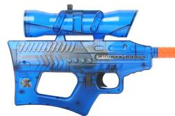 Soft Air Cyber Stryke X4 Mini Electric Airsoft Gun, Blue