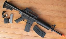 Well D94S M4A1 Carbine Style Auto Electric Airsoft Gun with