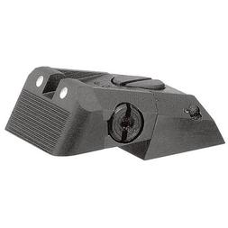 Kensight DAS 1911 Defense Adjustable Rear Sight White Dot wi