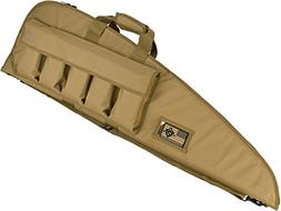 """Evike 42"""" Deluxe Padded Rifle Case with External Magazine Po"""