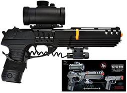 double eagle full size robocop inspired m39 air soft red dot