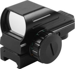 Aim Sports Dual Illuminated Reflex Sight with 4 MOA Reticles