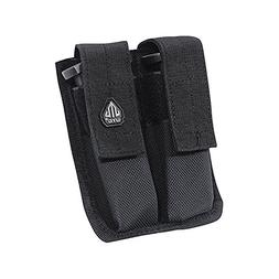 UTG Dual Pistol Mag Pouch, Velcro Close