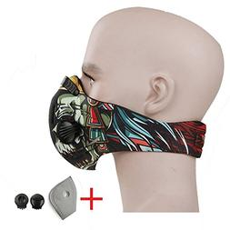 CFORWARD Dustproof Mask Activated Carbon Filtration Exhaust