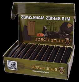 M4/M16 140Rd MID-CAP- AIRSOFT MAGAZINE-  10 Pack - blk