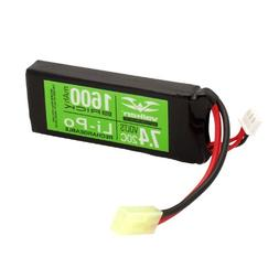 Valken Energy Li-Po 7.4v 1600mAh 20C Mini Flat Battery