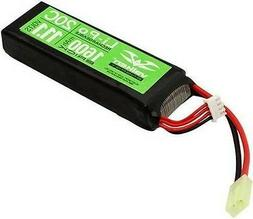 Valken Energy Li-Po 11.1v 1600mAh 20C Mini Flat Battery