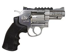 "Black Ops Exterminator Full Metal Revolver, 2.5"" Chrome"