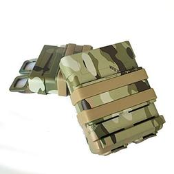 FastMag FAST DOUBLE Magazine Holster Pouch Set MOLLE SYSTEM