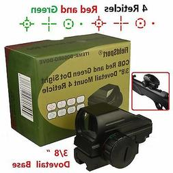 Field Sport  Red and Green Micro Dot Sight 3/8 Dovetail For