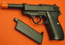 Full Metal Body,& Metal Magazine Walther P38 Style Airsoft S