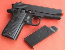 Full Metal Body & Slide Airsoft Spring Pistol Compact 1911 S