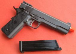 Full Metal Gas Blow Back Airsoft Gun 1911 Gun Metal Color Sh