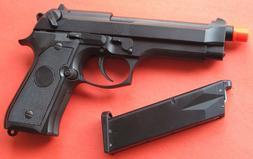 Full Metal Green Gas Blowback Airsoft Gun Beretta M9, M92F S