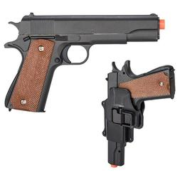 UK Arms G13H Spring Pistol Airsoft Gun w/ Hard Shell Holster