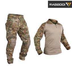 IDOGEAR G3 Combat Uniform Tactical Clothing Shirt&Pants Airs