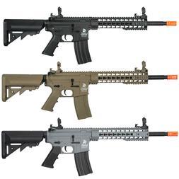"""Lancer Tactical Gen2 M4 10"""" KeyMod RIS Airsoft Rifle w/ Batt"""
