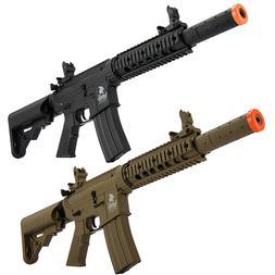 Lancer Tactical Gen2 M4 CQB RIS SD AEG Airsoft Rifle w/ Batt