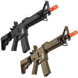Lancer Tactical Gen2 MK18 M4 CQB RASII AEG Airsoft Rifle Bat