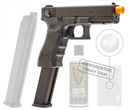 GLOCK G18C Gen3 GBB Airsoft Pistol with EF Green Gas Can and