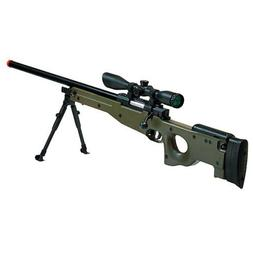 Green Type 96 airsoft rifle Shadow OPS airsoft gun