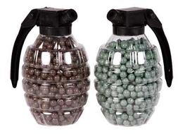 U.S. Marines Grenade Style Airsoft BB Loaders , Green/Brown