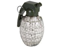 TSD Tactical 800 ct. Grenade Feeder Plastic White Airsoft BB