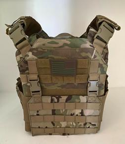 OneTigris Griffin AFPC Airsoft Vest - Multicam, w/ US Flag V