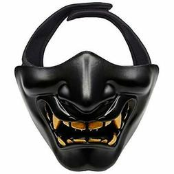 OUTRY Half Face Mask Lower Protective Tactical for Airsoft P
