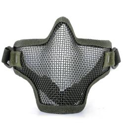 OFTEN® Half Face Metal Net Mesh Protective Mask for Outdoor