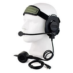 Buwico® HD01 Z Tactical Bowman Elite II 2 Pin Headset with