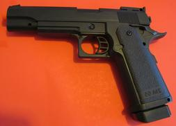 Heavy Weight Metal Core Airsoft Spring Pistol Hi-Capa Style